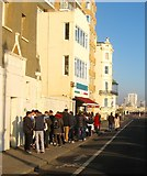TQ2804 : Maroccos, King's Esplanade, Hove by Simon Carey