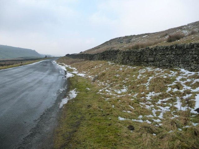 Until 1993, the A66 above Blackhause Sike