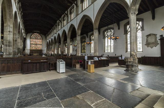 Interior, St Nicholas' Chapel, King's Lynn