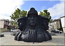 ST1599 : Miners Memorial by Mel hartshorn