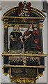 TF6120 : Monument to Thomas Greene, St Nicholas' Chapel, King's Lynn by Julian P Guffogg