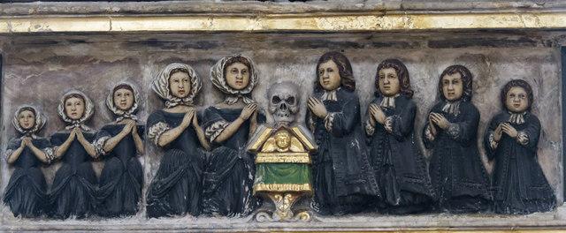 Greene monument detail, St Nicholas' Chapel, King's Lynn