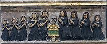 TF6120 : Greene monument detail, St Nicholas' Chapel, King's Lynn by J.Hannan-Briggs