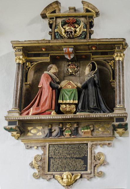 Snelling memorial, St Nicholas' Chapel, King's Lynn