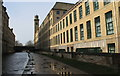 SE1438 : Salt's Mill at Saltaire by Dave Pickersgill