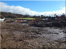 NS3977 : Construction site at Kilmalid by Lairich Rig