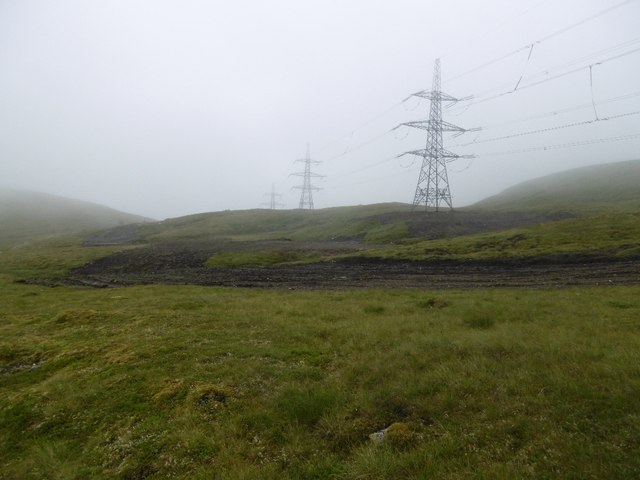 Beauly Denny power line, Corrieyairack