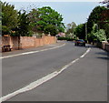 ST3049 : Roadside bench, Rectory Road, Burnham-on-Sea by Jaggery