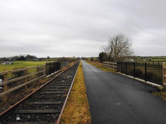 Bridge on the Athlone to Mullingar Cycleway