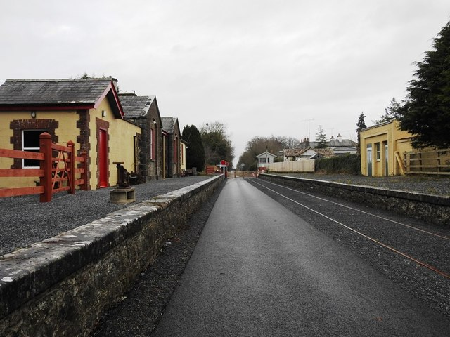 Castletown Station on the Athlone to Mullingar Cycleway