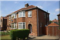 SE2098 : Semi-detached houses on Catterick Road by Roger Templeman