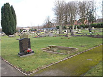 SE4111 : Cemetery - off Church Street by Betty Longbottom