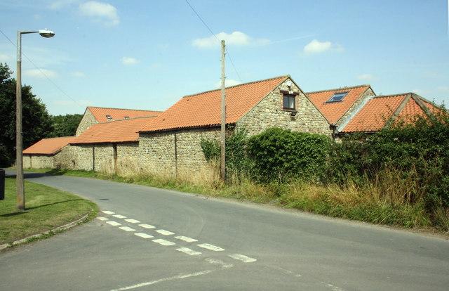 Barn conversion beside Colburn Lane