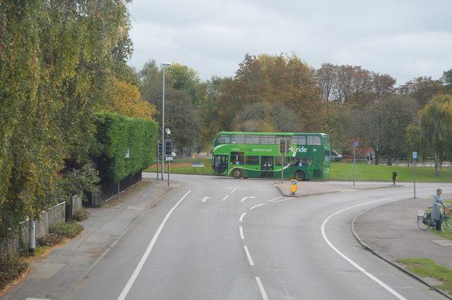 Hills Rd, A1307 by N Chadwick