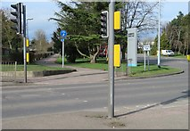 TL4661 : Main access to Cambridge Science Park by Sandy B
