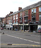 SS8591 : Talbot Street in Maesteg town centre by Jaggery