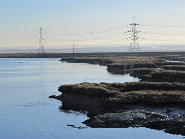 Chetney Marshes by Long Reach