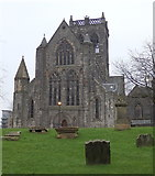 NS4863 : Façade of Paisley abbey by Rudi Winter