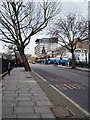 TQ3276 : View up Denmark Hill, Camberwell by Julian Osley