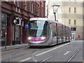 SP0686 : Tram terminus, Birmingham by Chris Allen
