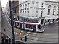 SP0686 : Tram on Stephenson Street, Birmingham by Chris Allen