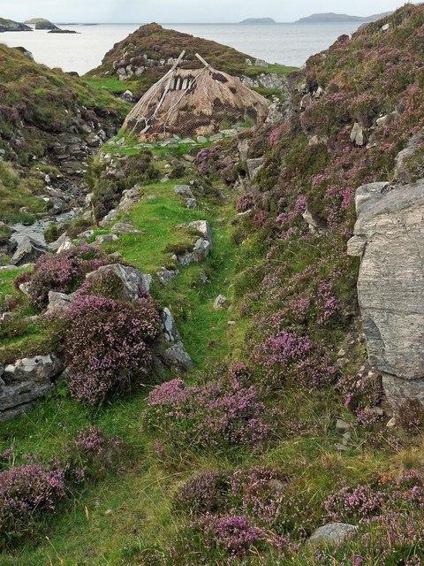 Mill lade, Breacleit Norse mill, Great Bernera/Beàrnaraigh