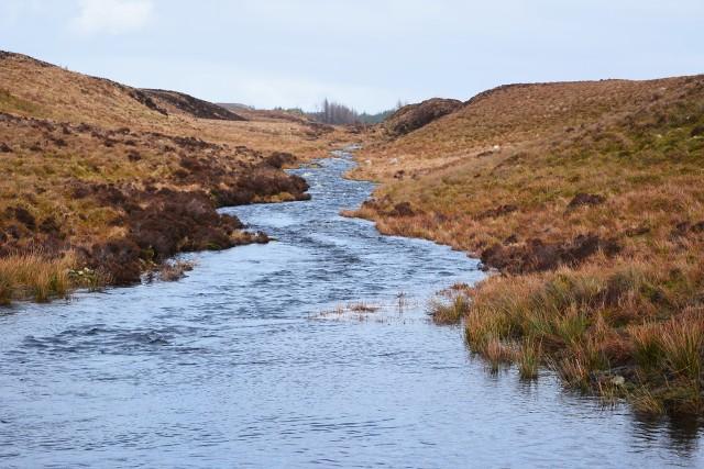 Finchairn River in spate