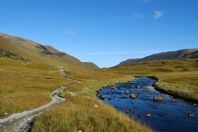The Glen Affric Way and the River Affric