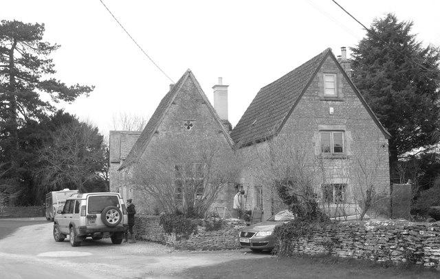 Former School, The Street, Littleton Drew, Wiltshire 2013