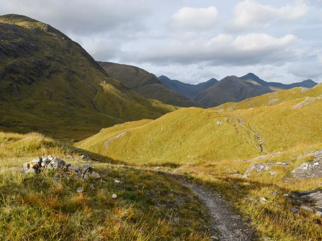 The path to Kintail west of Camban