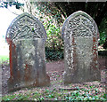 TG1926 : Gravestones in Aylsham Cemetery by Evelyn Simak