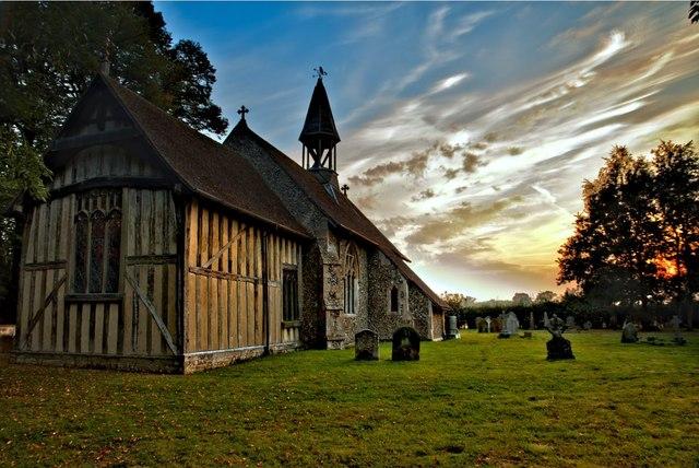 Crowfield Church