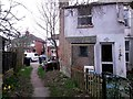 SZ1292 : Pokesdown: footpath J04 approaches Wheaton Road by Chris Downer
