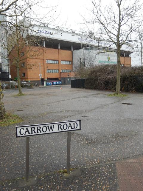 Carrow Road, Norwich