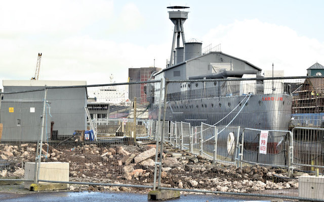 "HMS ""Caroline"", Belfast (February 2017)"