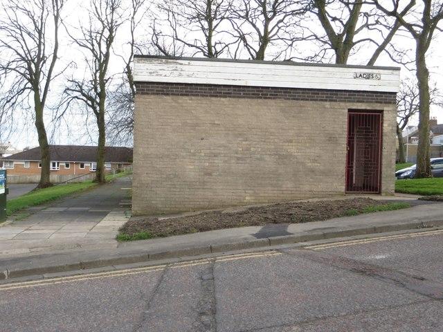 Former public toilets, Bedlington