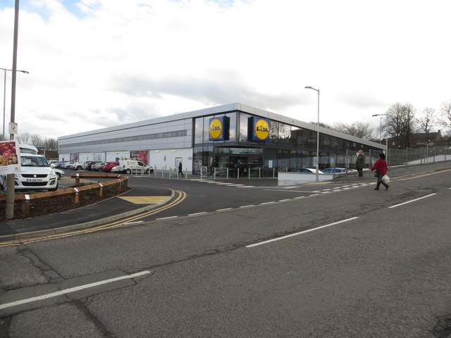 New Lidl supermarket, Bedlington