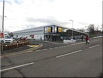NZ2582 : New Lidl supermarket, Bedlington by Graham Robson