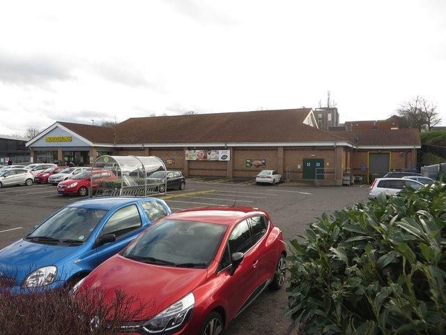 Morrisons supermarket, Bedlington