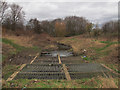 SE3332 : Trash screen on the Wyke Beck by Stephen Craven