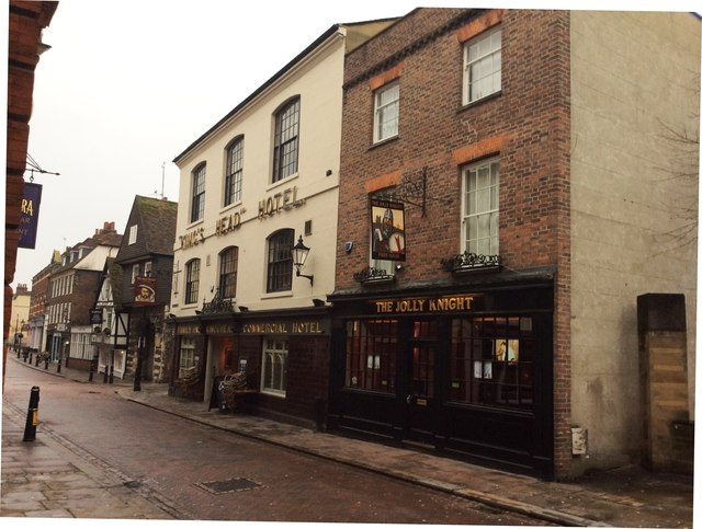 The Jolly Knight and Turks Head Public Houses, High Street, Rochester