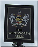 SP4795 : Sign for the Wentworth Arms, Elmesthorpe by JThomas
