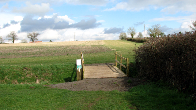 Footbridge on the Boudicca Way