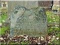 SK5717 : Possible Belvoir Angel headstone, Holy Trinity churchyard, Barrow-upon-Soar by Alan Murray-Rust