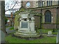 SK5717 : Beaumont monument, Holy Trinity churchyard, Barrow-upon-Soar by Alan Murray-Rust