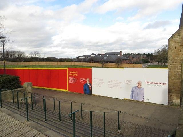 Development site, Bedlington town centre