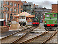 SJ8397 : The Railway Yard at the Museum of Science and Industry. Manchester by David Dixon