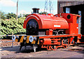 SD7901 : RSH Saddle Tank Locomotive at Agecroft by David Dixon