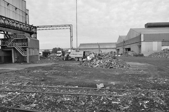 Industrial Estate by Mel hartshorn