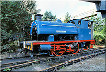 SD7901 : RSH Saddle Tank Locomotive at Agecroft Power Station by David Dixon